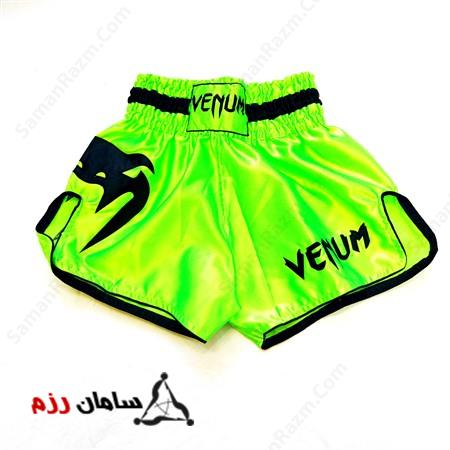 شورت کیک بوکس VENUM اصلی Green - Original VENUM kick box short